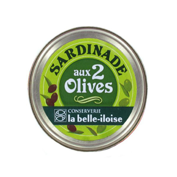 la belle iloise - Sardinenpase mit 2erlei Oliven