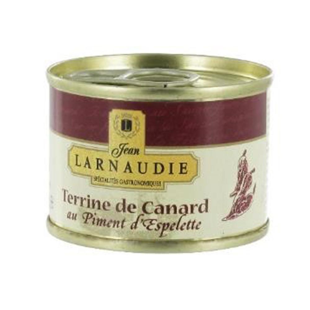 Ententerrine mit Piment d'espelette von Jean Larnaudie