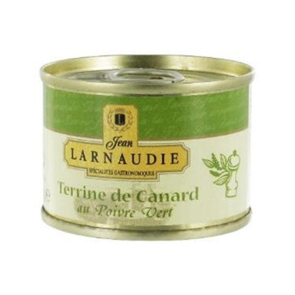 Ententerrine mit grünem Pfeffer von Jean Larnaudie