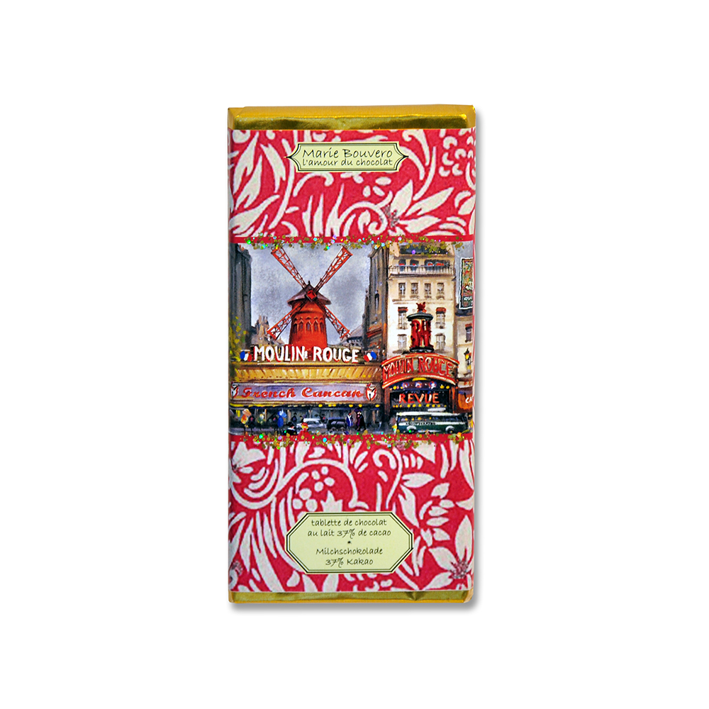 """Vollmilchschokolade """"Montmartre"""" von Marie Bouvero"""