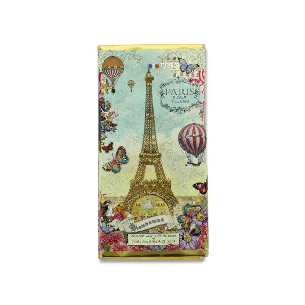 """Zartbitterschokolade """"Paris Balloon"""" von Marie Bouvero"""