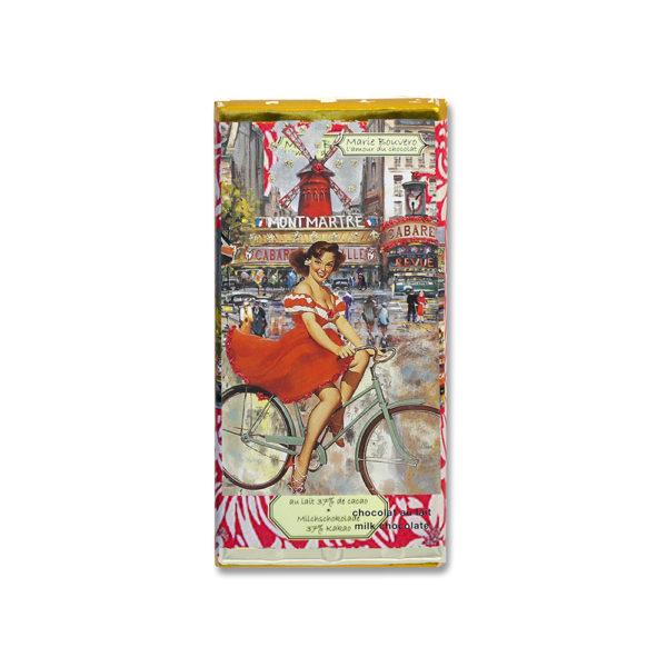 """Vollmilchschokolade """"Pin Up Montmartre"""" von Marie Bouvero"""