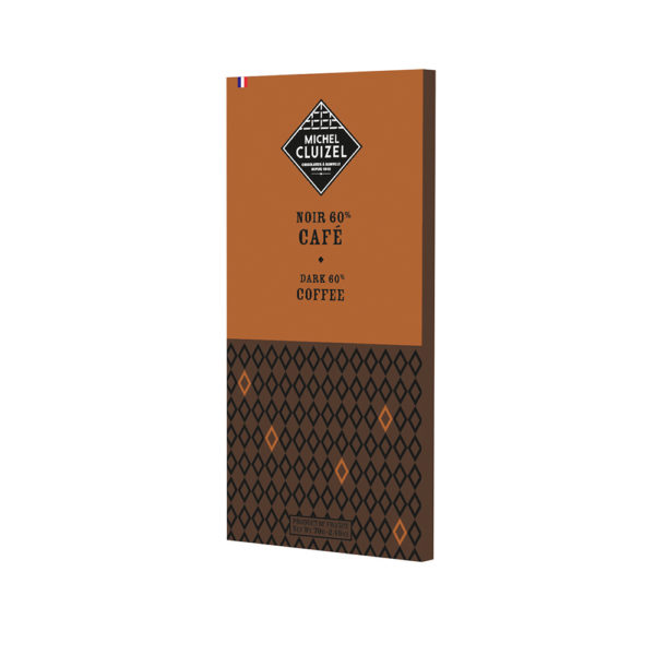Bitterschokolade mit Kaffee