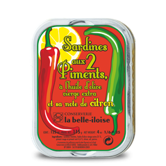 la belle iloise - Sardinen mit 2 Chili