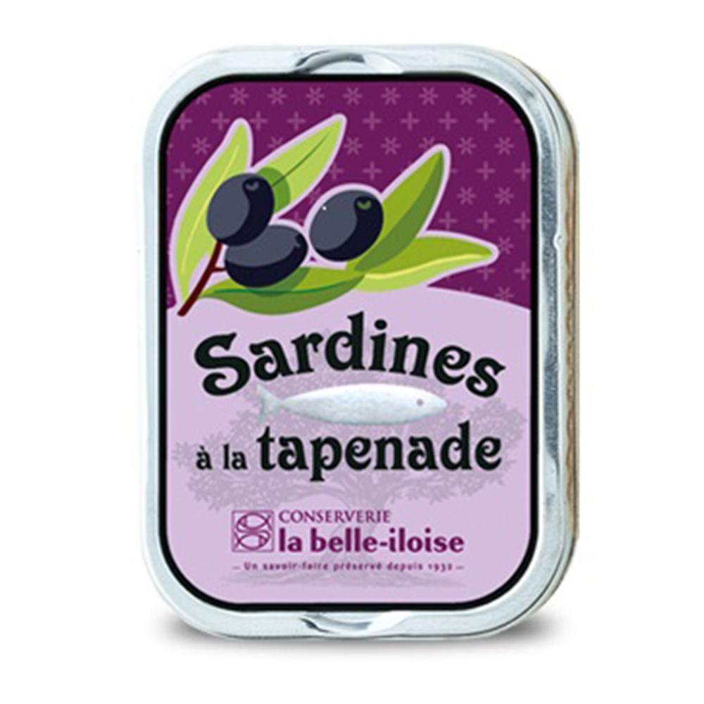 la belle iloise - Sardinen mit Tapenade