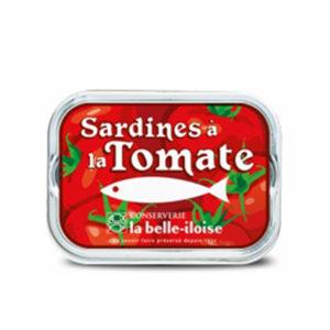 la belle iloise - Sardinen mit Tomaten
