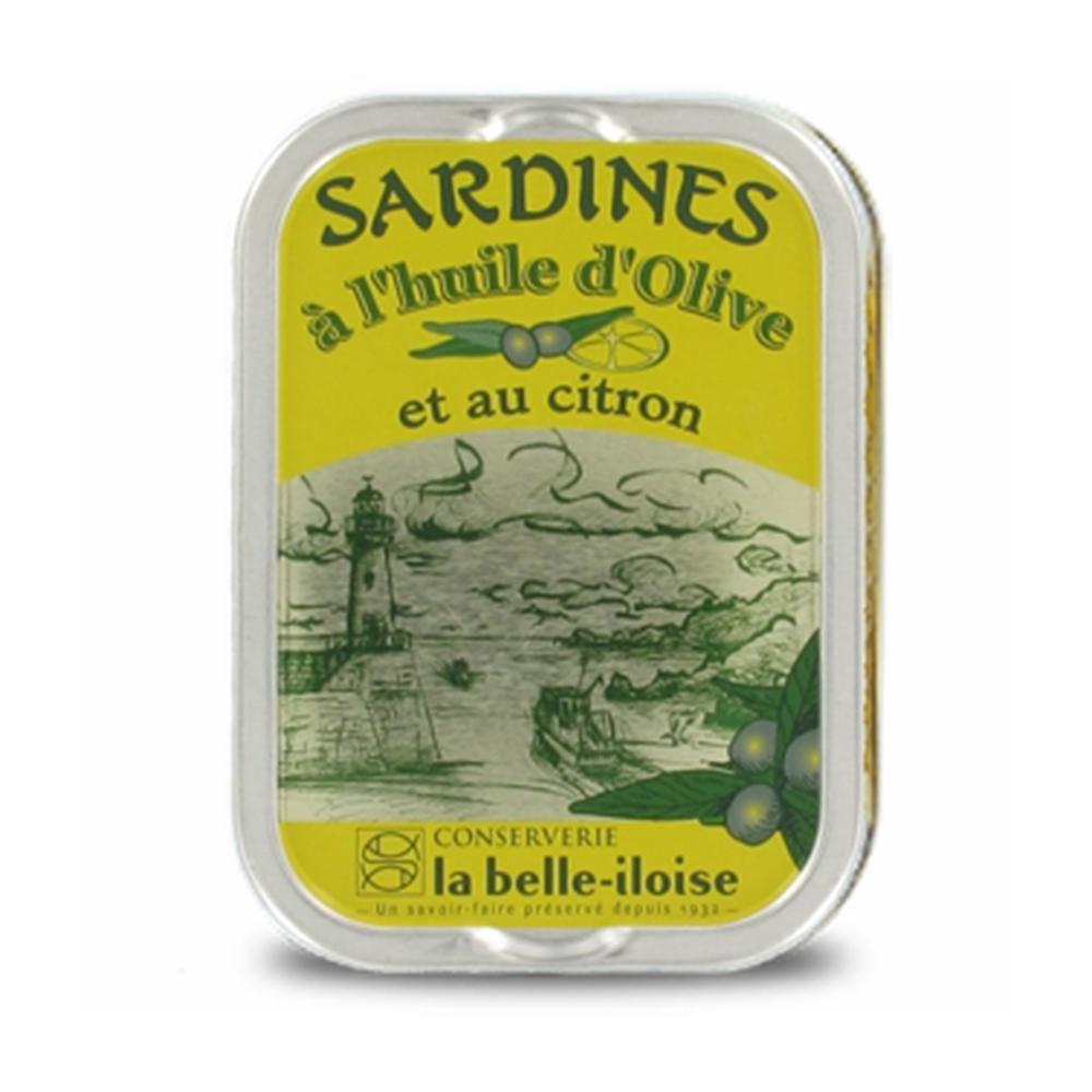 la belle iloise - Sardinen mit Zitrone