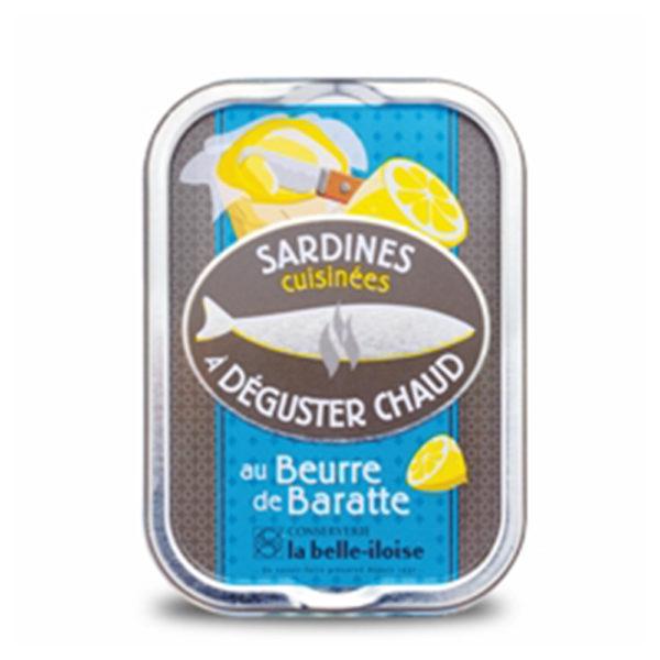 la belle iloise - heiße Sardinen mit Butter