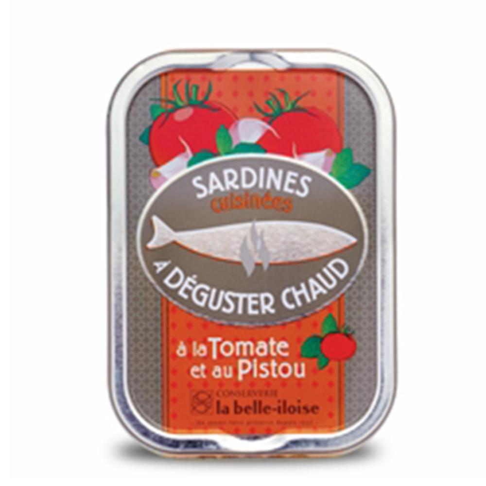 la belle iloise - heiße Sardinen mit Tomaten