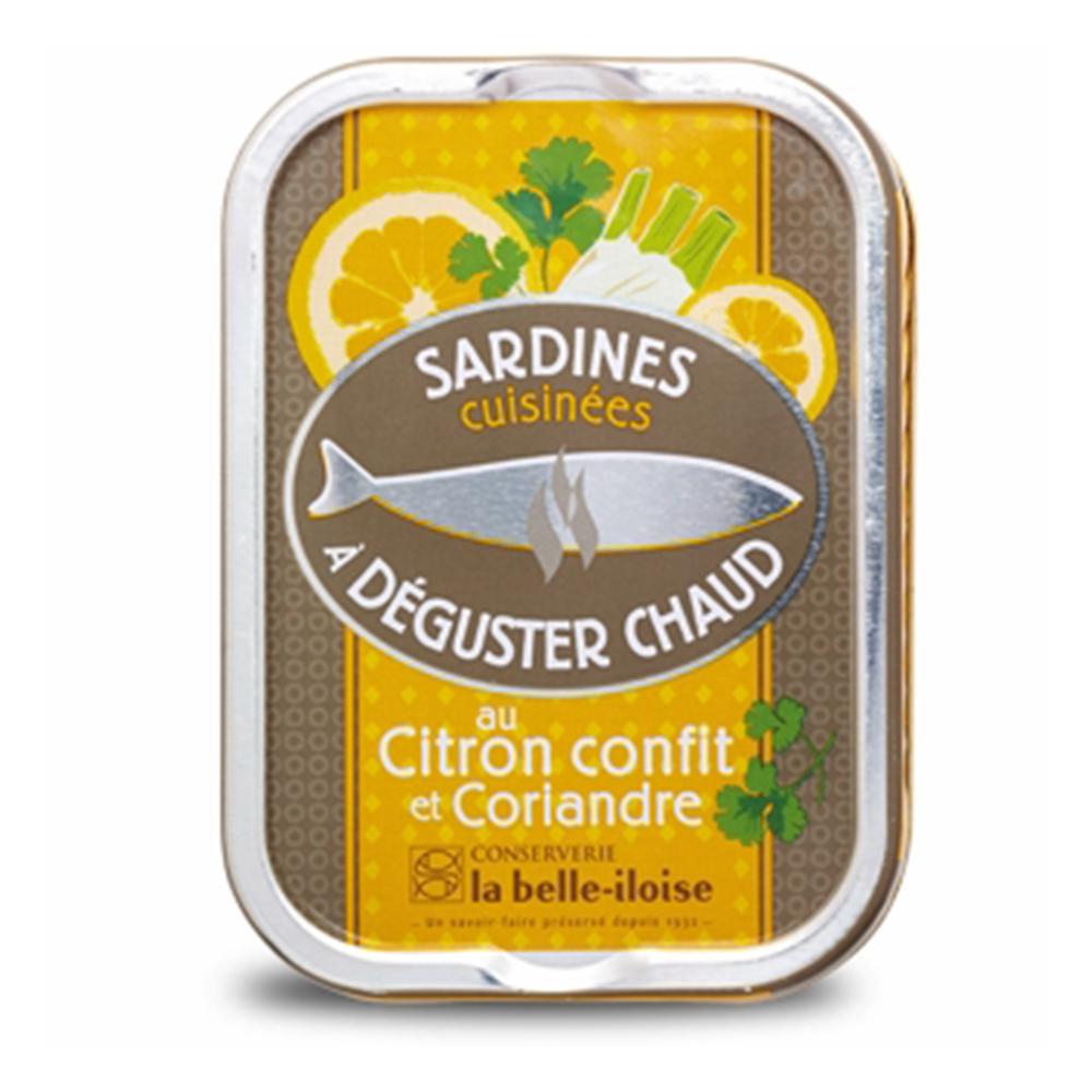 la belle iloise - Heiße Sardinen mit Zitronen und Koriander