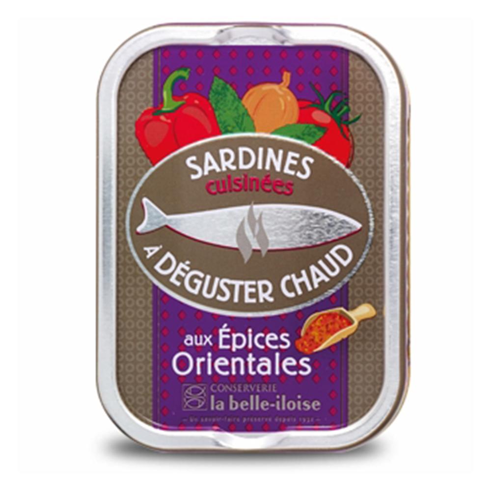 la belle iloise - heiße Sardinen mit orientalischen Gewürzen