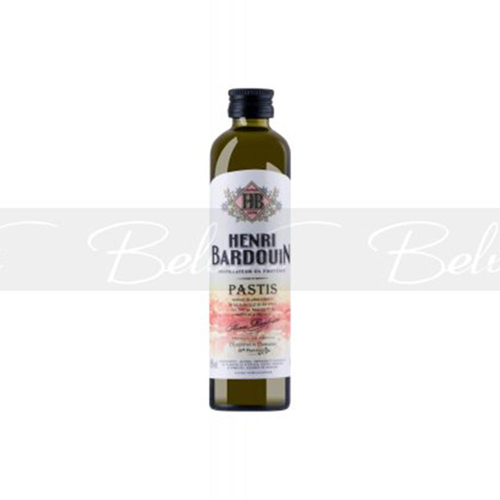 Pastis Henri Bardouin – 10 cl Flasche mit 45% vol. Alk.