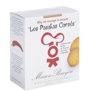 Salziger Keks mit Kräutern der Provence