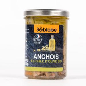 la sablaise - Anchovis in Bio-Olivenöl
