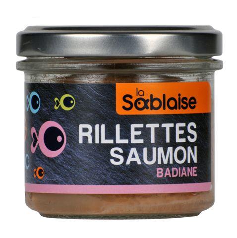 la sablaise - Lachsrillette mit Sternanis