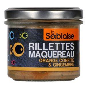 la sablaise - Makrelenrillette mit Orange und Ingwer