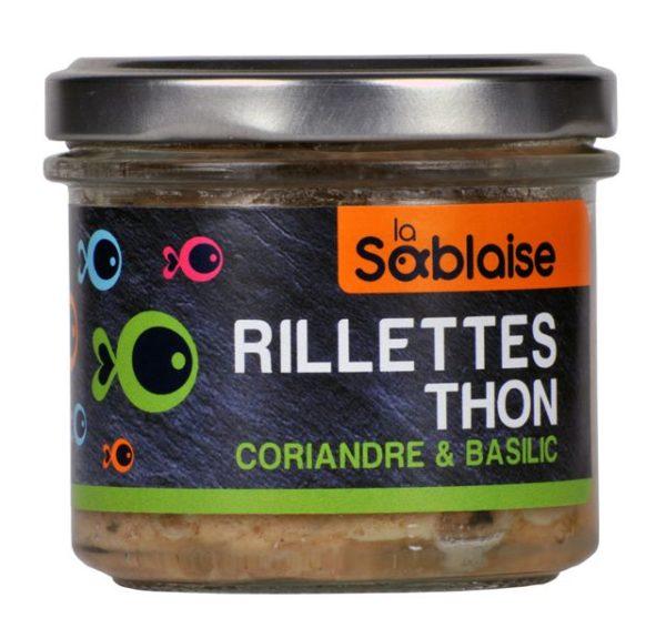 la sablaise - Thunfischrillette mit Koriander und Basilikum